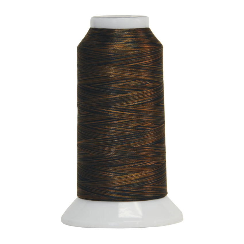 Fantastico Variegated Quilting Thread #5053 Walnut