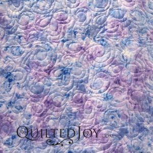 """Cracked Ice 108"""" wide back fabric in Wisteria"""
