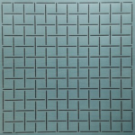 Square Grid Stencil from The Stencil Company