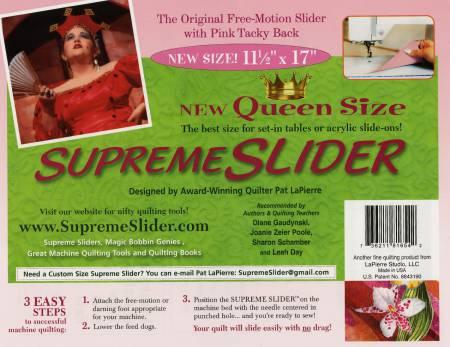 Supreme Slider, Queen Size