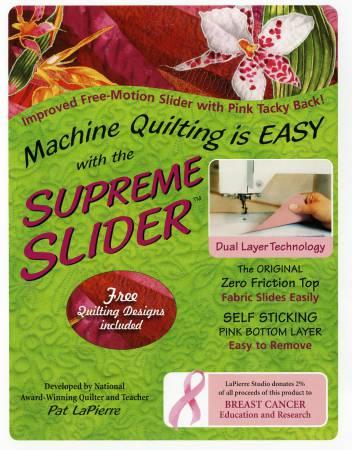 Supreme Slider, Original Size