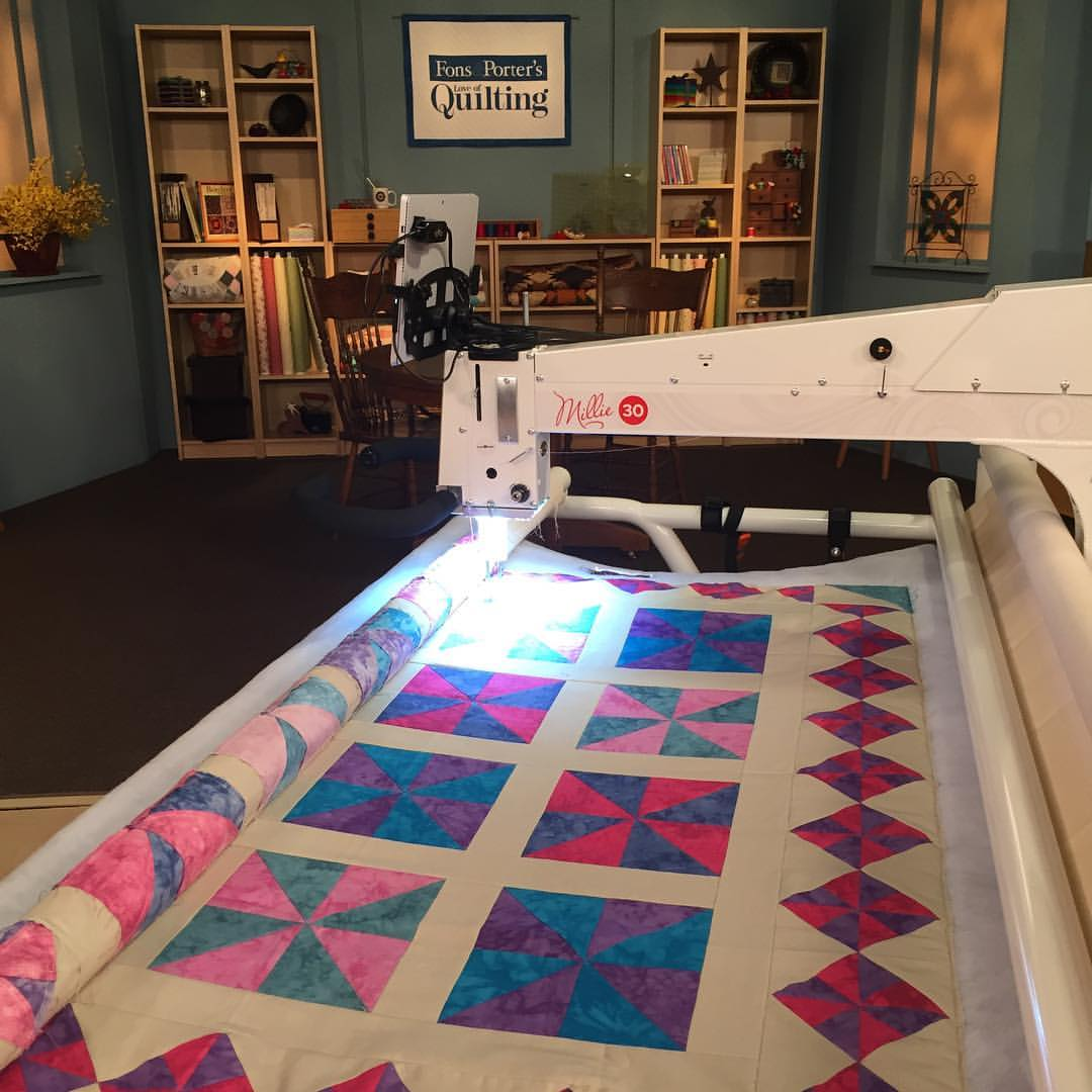 My Episode Of Love Of Quilting 3000 Series Quilting For Drama