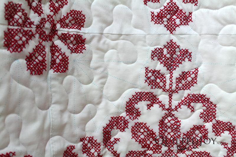 Cross Stitch Quilt