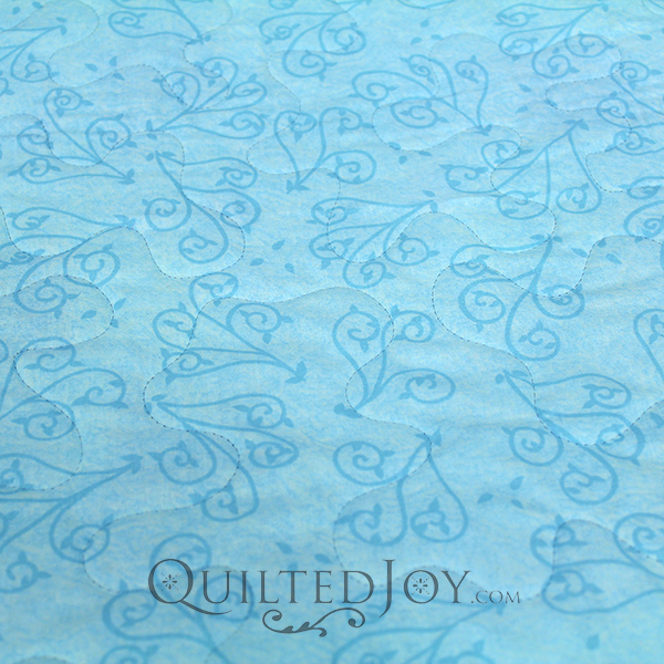 "Turquoise blue 108"" Wide Backing Fabric"