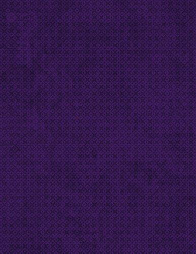 "108"" Essentials Criss Cross - Purple quilt backing fabric"