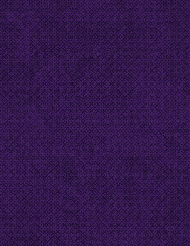 "108"" Essentials Criss Cross - Purple quilt backing fabric"