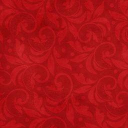 """Vintage Scroll Essential 108"""" - Red"""