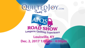 APQS Road Show at Quilted Joy Louisville, KY