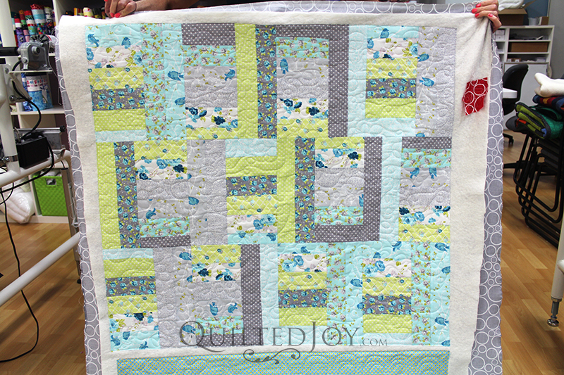 freemotion quilting on the longarm