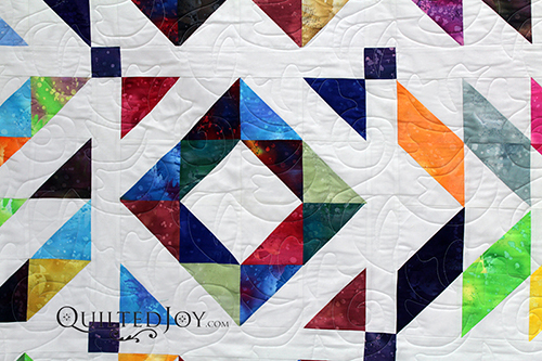 Learn to make Half Square Triangles at Quilted Joy