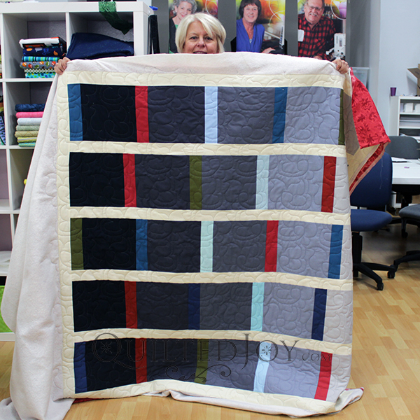 Pam's ombre quilt looks amazing doesn't it?