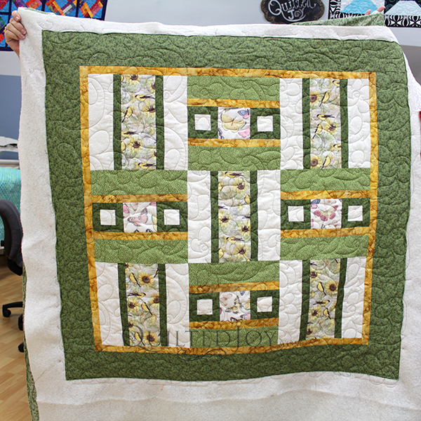 Rebecca's Split Rail Fence Quilt Variation