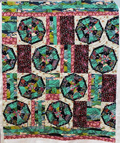 Lindas Spiderweb Quilt