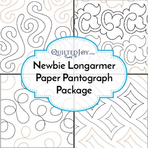 Paper Panto Package For Newbie Longarm Quilter