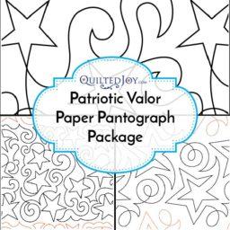 Patriotic Valor Paper Pantograph Package