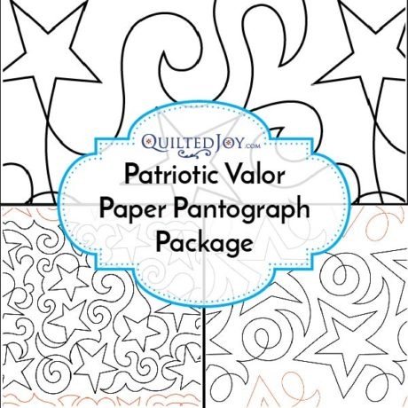Patriotic Valor Paper Pantograph Package