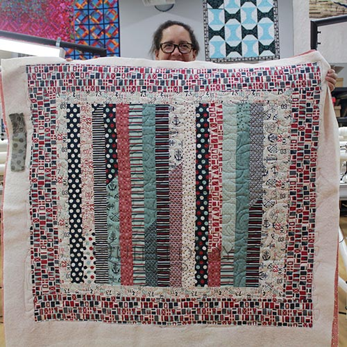 Three Fabulous Jelly Roll Quilts From Our Longarm Renters