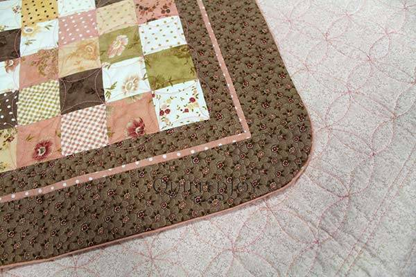 Quilt with Facing