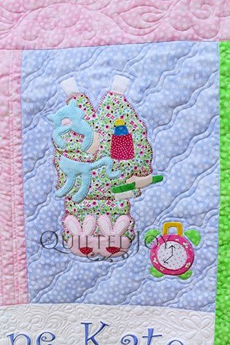 Paper Doll Quilt Pajamas Block Quilting by Angela Huffman