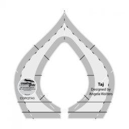 Taj Machine Quilting Ruler CGRQTA5