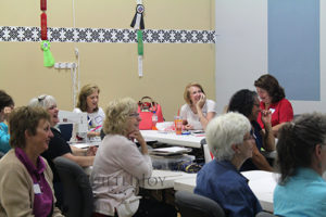 Beginning Longarm Quilting Class Students
