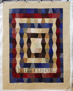 Patriotic Themed Tumbler Block Quilts