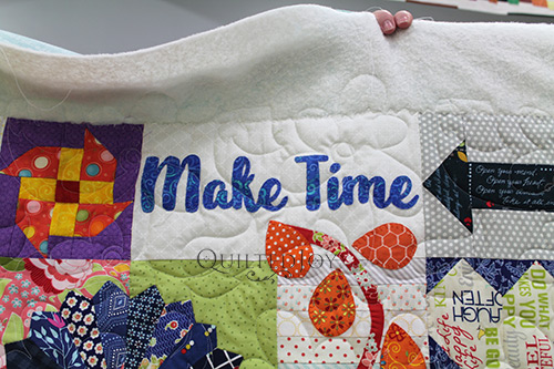 Debra's Dear Daughter Quilt - Make Time Block