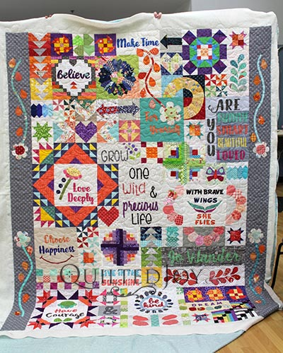 Debra's Dear Daughter Quilt