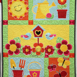 Learn to machine quilt in Angela Huffman's Machine Quilting Primer: Baby Quilt Class