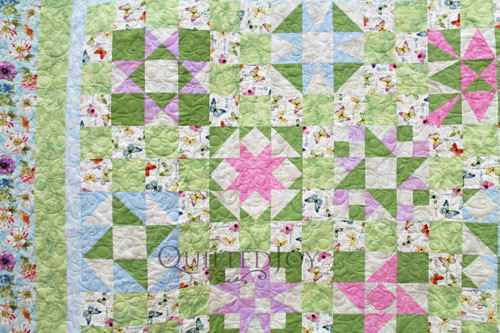 Different blocks in Mary Jo's Sampler Quilt
