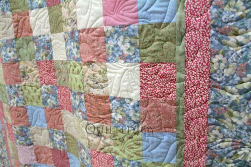 Nancy's Pastel Floral Quilt