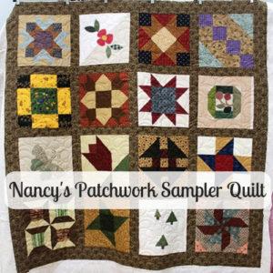 Patchwork Sampler Quilt