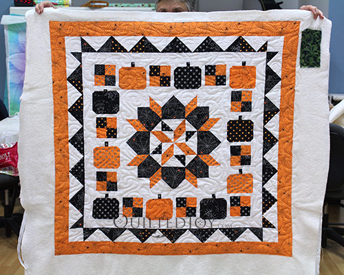 Boo To You Halloween Mystery Quilt
