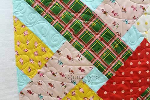 Free Motion Quilting on a Longarm on the Libby Quilt