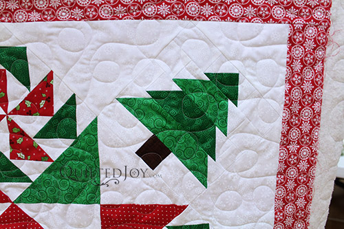 Colleen's Christmas Quilt Table Topper