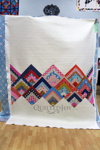 Rinse & Repeat Quilt Featuring lots of Straight Line Quilting