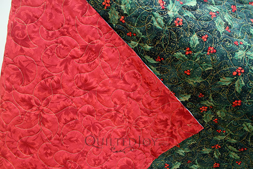 Quilted Christmas Tablecloth