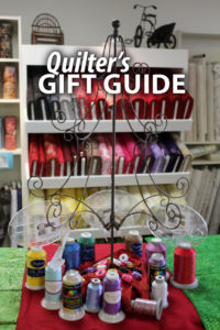 """""""Quilter's Gift Guide"""" Here's a helpful gift guide for your favorite quilter and longarm quilter"""