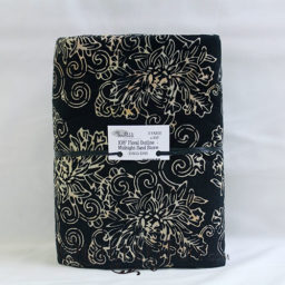 Sew Batik 10802-1098 Floral Outline Midnight Sand Storm 3 Yard Precut