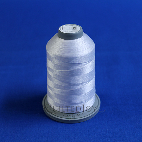 5000m King Cone of Glide Thread Super White 10002