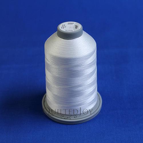 5000m King Cone of Glide Thread White 10000