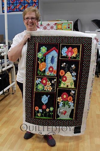 Nancy's Birdhouse Panel Quilt