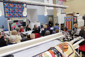 Kentuckiana Longarm Quilting Guild Meeting at Quilted Joy