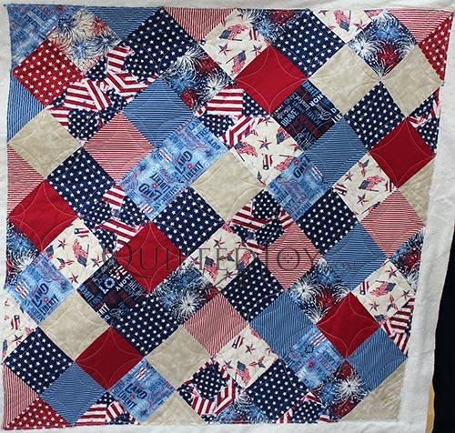Quilting Patriotic Quilts