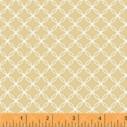 "Tan Lattice 108"" Backing Fabric 42464-1"