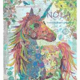 Nola Unicorn Collage Quilt Pattern by Laura Heine