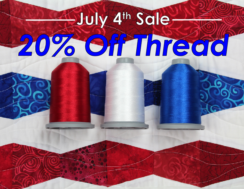 July 4th Sale 20% off Thread
