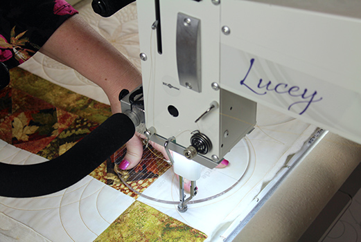 Quilting with Circle Rulers - Angela Huffman shares tips and ideas for adding circles to your quilting