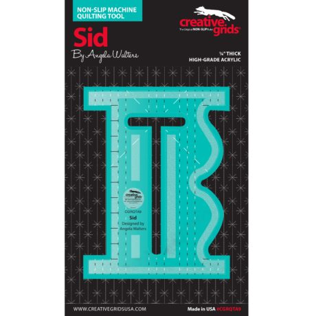 Sid Machine Quilting Ruler by Angela Walters