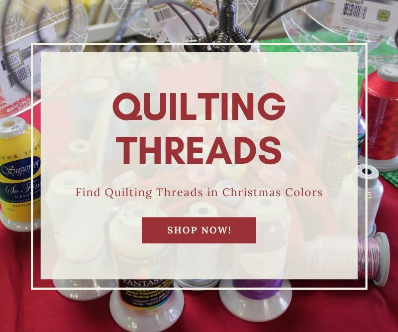 """Quilting Threads Find Quilting Threads in Christmas Colors Shop Now"""